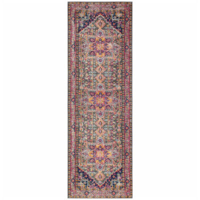 Blake Polypropylene & Cotton Machine Made Area Rug