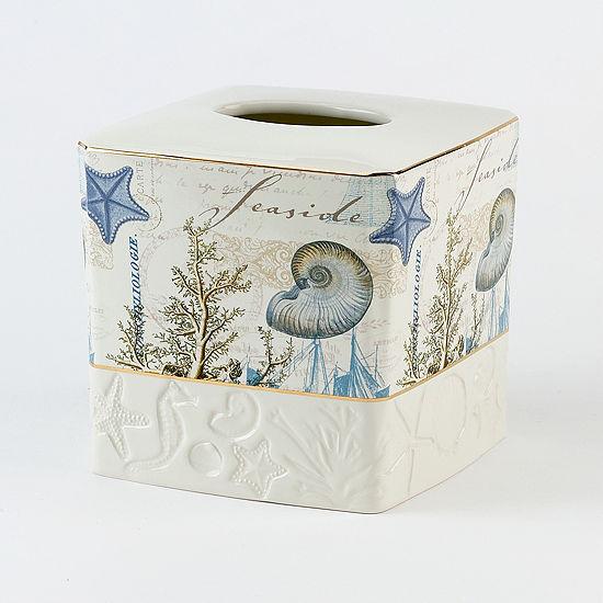 Avanti Antigua Tissue Box Cover