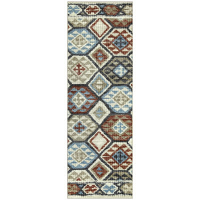 Maples Roan Printed Rectangular Runner