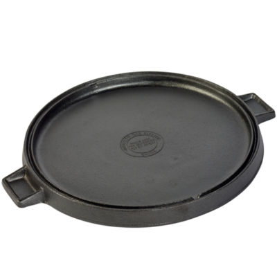 "Tabletops Unlimited Cast Iron 14"" Revserible Grill + Griddle"
