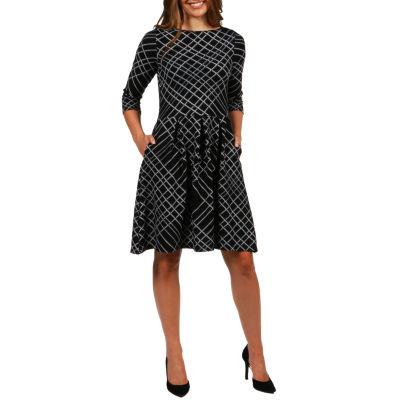 24/7 Comfort Apparel Leslie Dress