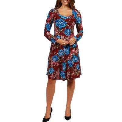 24/7 Comfort Apparel Breath of Fresh Air Dress