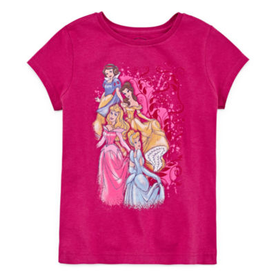 Disney Disney Princess Graphic T-Shirt-Big Kid