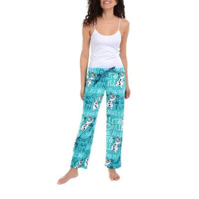 Disney Womens Fleece Pajama Pants Frozen
