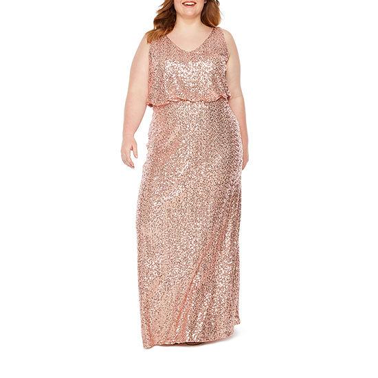 51ea514a8f7 Blu Sage Sleeveless Blouson Gown - Plus - JCPenney