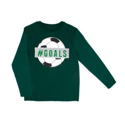 Ps Aeropostale Boys Round Neck Long Sleeve T-Shirt Preschool / Big Kid