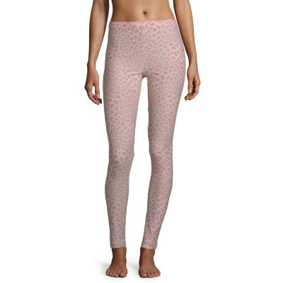 Flirtitude Cheetah Knit Leggings-Juniors