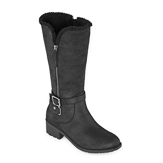 St. John's Bay Womens Downey Wide Calf Boots