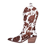 Dingo Womens Live A Little Block Heel Cowboy Boots