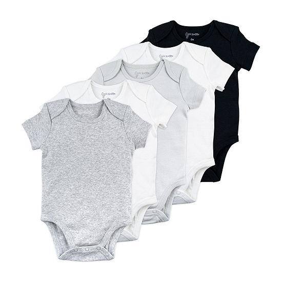 Mac And Moon-Baby Unisex 5-pc. Bodysuit