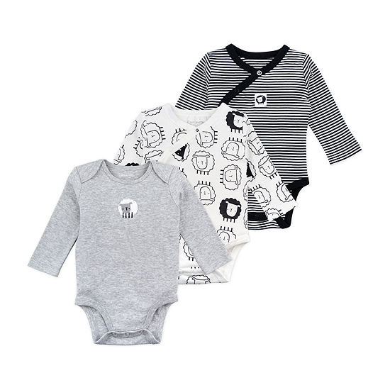 Mac And Moon Baby Boys 3-pc. Bodysuit