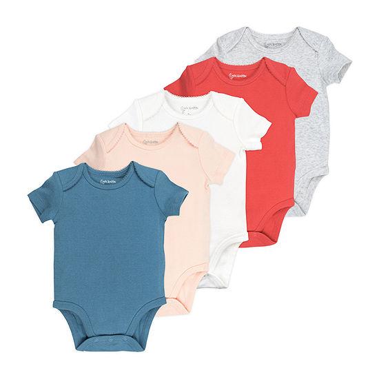 Mac And Moon Girls 5-pc. Bodysuit-Baby