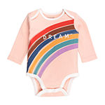 Mac And Moon Baby Girls 3-pc. Bodysuit