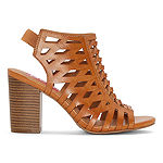 Pop Womens Maddock Heeled Sandals