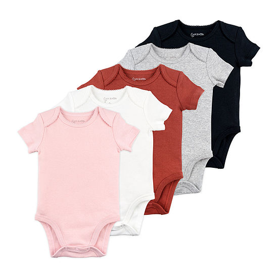 Mac And Moon Girls 5-pc. Bodysuit-Baby