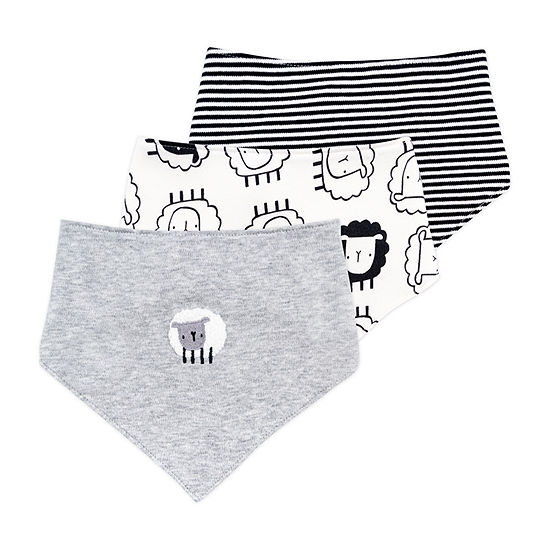 Mac And Moon Sheep Boys 3-pc. Bib