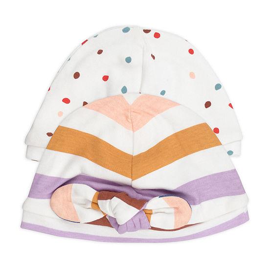 Mac And Moon Rainbow Girls 2-pc. Baby Hat-Baby