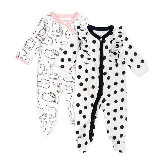 Mac And Moon Kitty Girls 2-pc. Sleep and Play - Baby