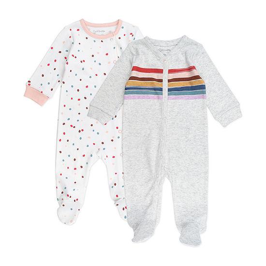 Mac And Moon Rainbow Girls 2-pc. Sleep and Play - Baby