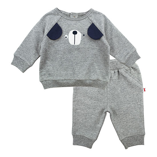 Mac And Moon Dog Boys 2-pc. Baby Clothing Set-Baby