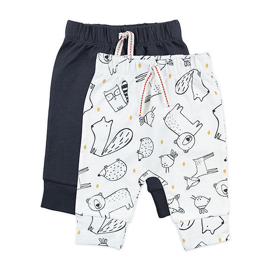 Mac And Moon Woodland Baby Boys 2-pc. Pull-On Pants