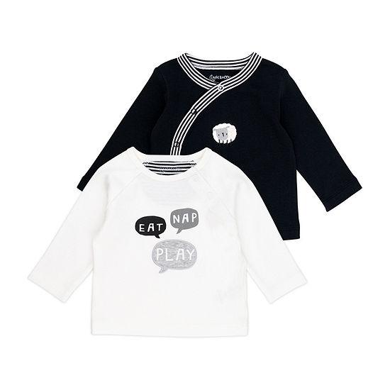 Mac And Moon Sheep Boys Long Sleeve Kimono - Baby