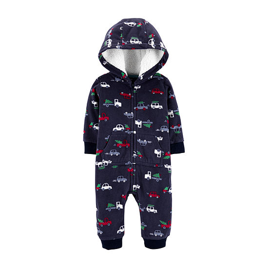 Carter's Christmas Boys Jumpsuit - Baby