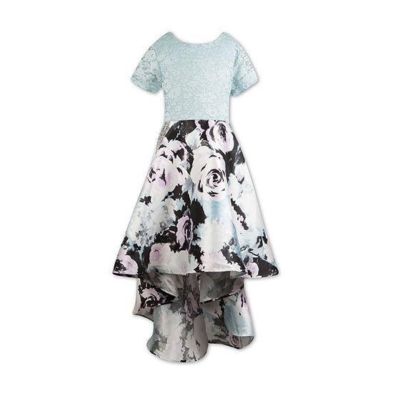 Speechless Girls Short Sleeve Party Dress - Preschool / Big Kid Plus