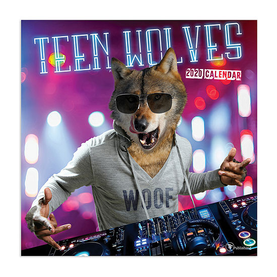 Tf Publishing 2020 Teen Wolves Wall Calendar