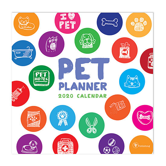 Tf Publishing 2020 Pet Planner Wall Calendar