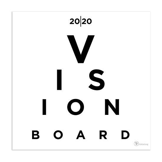 Tf Publishing 2020 Vision Board Wall Calendar