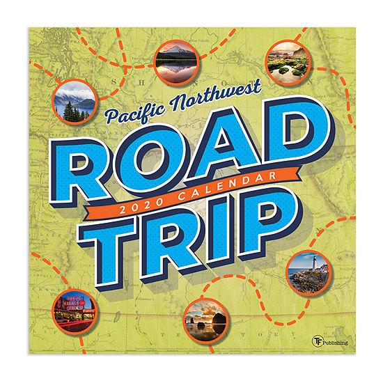 Tf Publishing 2020 Road Trip: Pacific Northwest Wall Calendar