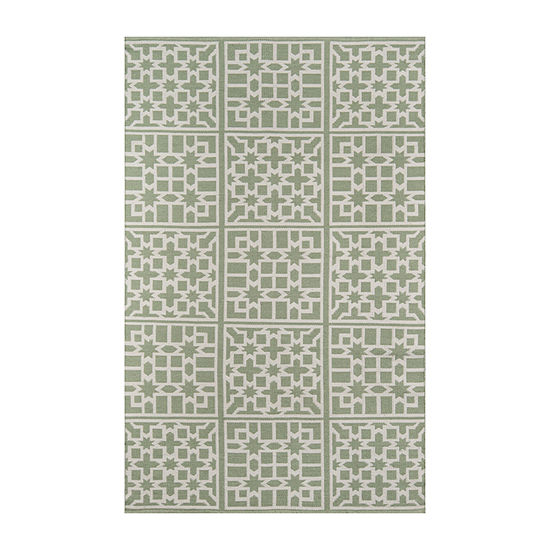 Madcap Cottage By Momeni Lake Trail Rectangular Indoor/Outdoor Rugs