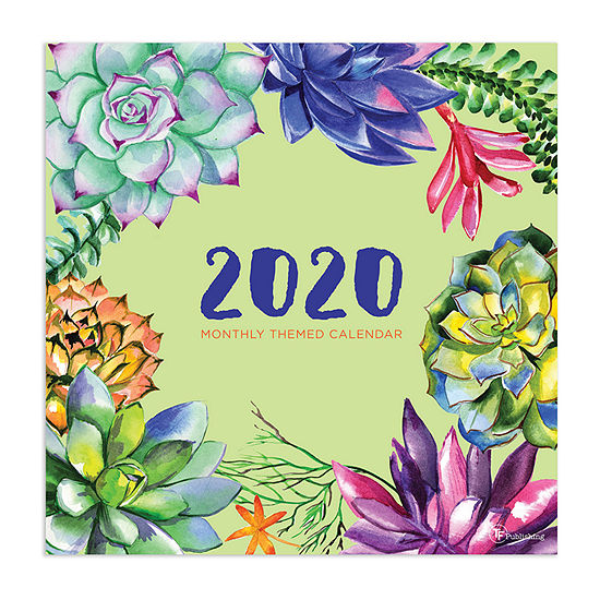 Tf Publishing 2020 Monthly Theme Wall Calendar