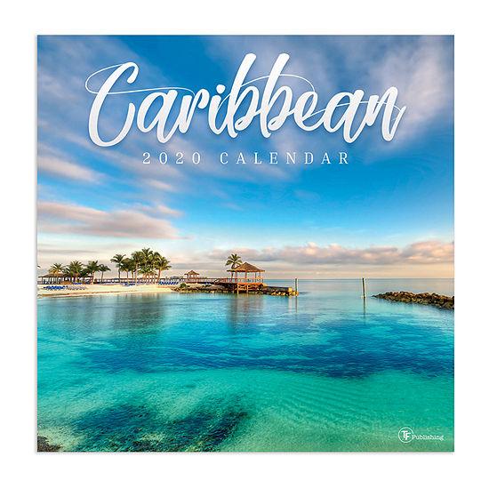 Tf Publishing 2020 Caribbean Wall Calendar