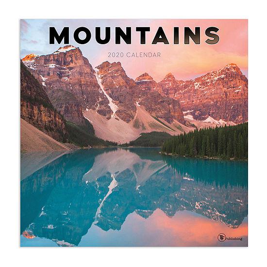 Tf Publishing 2020 Mountains Wall Calendar