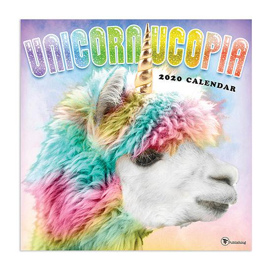 Tf Publishing 2020 Unicornucopia Wall Calendar