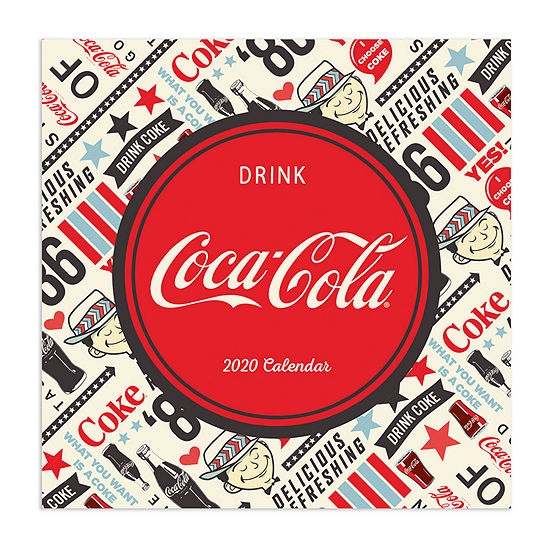 Tf Publishing 2020 Coca-Cola: Americana Wall Calendar