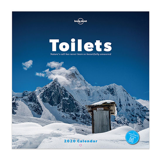 Tf Publishing 2020 Toilets: Nature's Call Has Never Been So Beautifully Answered Wall Calendar