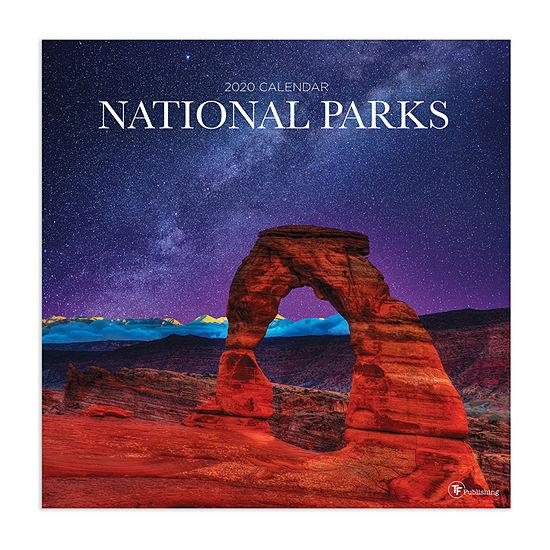 Tf Publishing 2020 National Parks Wall Calendar