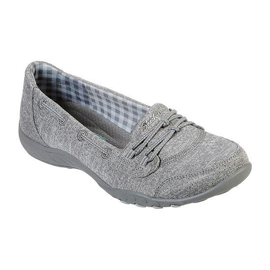 Skechers Womens Breathe-Easy Good Influence Slip-On Shoe