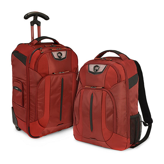 Travelers Choice Cross Point 2- pc. Luggage Set