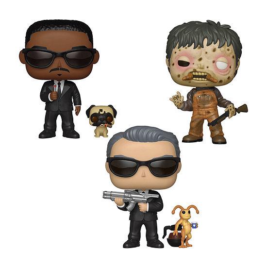 Funko Pop! Movies Men In Black Collectors Set - Agent K & Needle Agent J & Frank Edgar