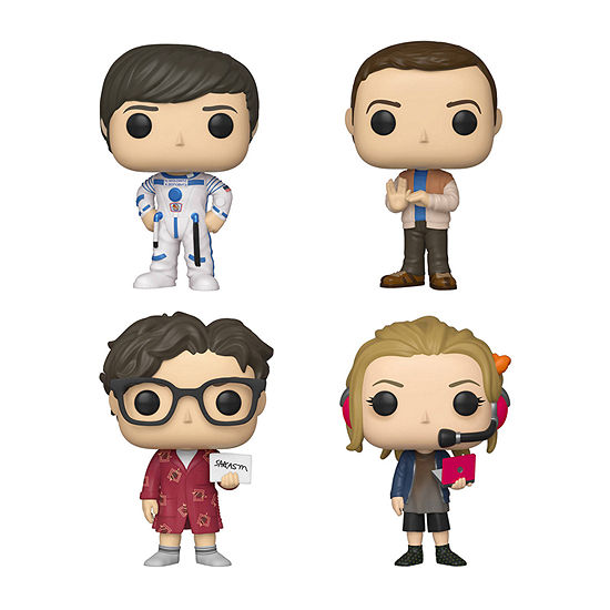 Funko Pop! Tv Big Bang Theory Series 2 Collectors Set 1 - Howard Sheldon Leonard Penny