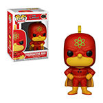 Funko Pop! Animation Simpsons Collectors Set 1 - Homer Radioactive Man Bart Bartman Lisa With Saxophone Maggie