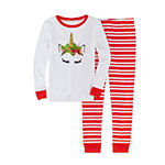 Girls 2-pc. Pant Pajama Set Preschool / Big Kid