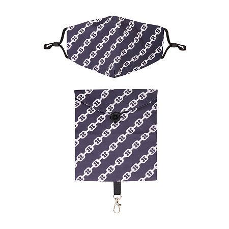Unisex Adult Face Mask Bag Set, One Size , Black