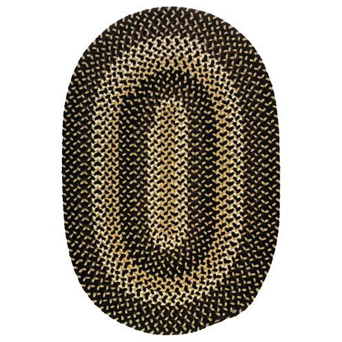 Chestnut Knoll Braided Oval Rug