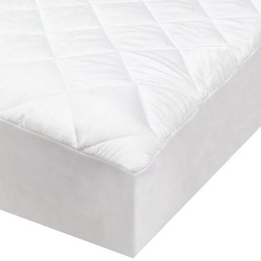 SensorLOFT® CoolMAX® 300tc Diamond Quilted Mattress Pad : quilted mattress pads - Adamdwight.com