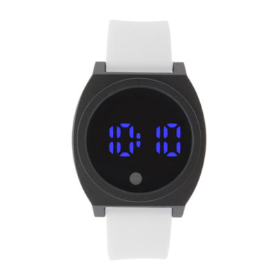 Mens Black Strap Watch-33550